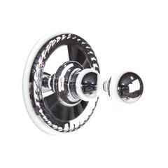 Aria Robe Hook Polished Chrome