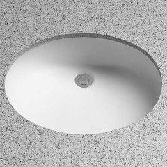 """21-1/4"""" x 17-1/4"""" Undermount Bathroom Sink - Cotton White"""