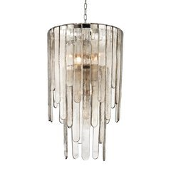 Fenwater 9 Light Pendant - Polished Nickel