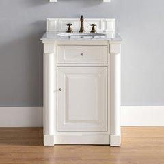 "26"" New Haven Single Vanity w/ Carrara White Top-Cott White"