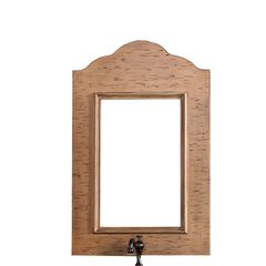 "36"" x 23"" Copper Cove Wall Mount Mirror - Antique Oak"