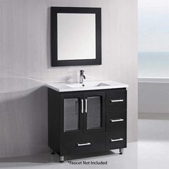 "36"" Stanton Single Sink Bathroom Vanity - Espresso"