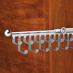Tie/Scarf 12 inch Organizer Chrome