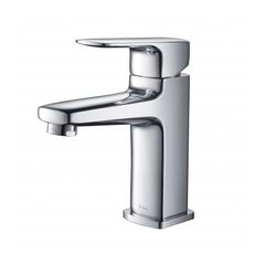 Virtus Single Hole Bathroom Faucet - Chrome
