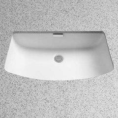 """27"""" x 16-3/8"""" Undermount Bathroom Sink - Cotton White"""