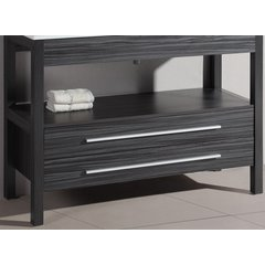 "47"" A-5243GMC Single Vanity Cabinet Only-Charcoal Gray"