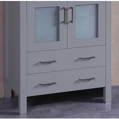 "30"" A-GR-30MC Single Vanity Cabinet Only-Gray"