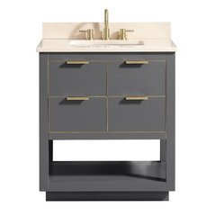 "31"" Allie Combo Vanity - Crema Marfil Marble Top"