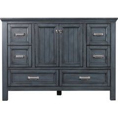 48 Inches Free Standing Brantley Vanity Only - Harbor Blue