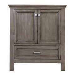 30 Inches Free Standing Brantley Vanity Only - Distressed Grey