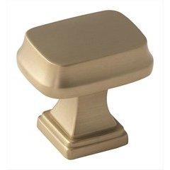 Revitalize 1-1/4 Inch Diameter Golden Champagne Cabinet Knob