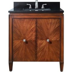 "31"" Brentwood Single Vanity - Black Granite Top"