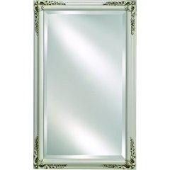 "Basix Plus 20"" Mirrored Medicine Cabinet - Antique White"