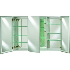 """Broadway 36"""" Wall Mount Mirrored Medicine Cabinet - Polished"""