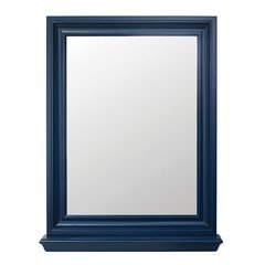 23.125 Inches Cherie Framed Mirror - Royal Blue