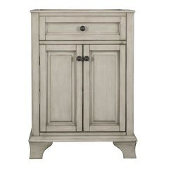 24 Inches Free Standing Corsicana Vanity - Antique Grey