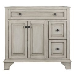 36 Inches Free Standing Corsicana Vanity - Antique Grey