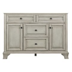 48 Inches Free Standing Corsicana Vanity - Antique Grey
