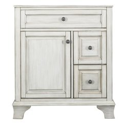 30 Inches Free Standing Corsicana Vanity - Antique White