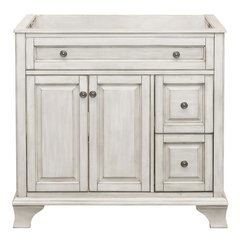 36 Inches Free Standing Corsicana Vanity Only - Antique White