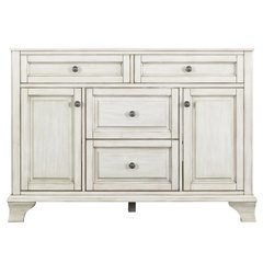48 Inches Free Standing Corsicana Vanity - Antique White