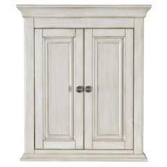 26.77 Inches Corsicana Wall Cabinet - Antique White