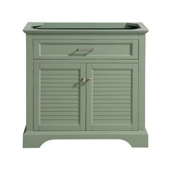 36 Inch Colton Vanity Only - Basil Green