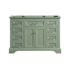 48 Inch Colton Vanity Only - Basil Green