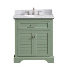 "31"" Colton Combo Vanity - Carrara White Marble Top"