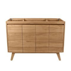 48 Inch Coventry Vanity Only - Natural Teak