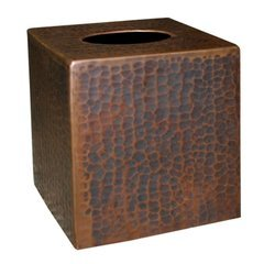 Rustic Tissue Holder - Antique Copper