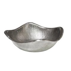 Small Monterey Copper Bowl - Brushed Nickel
