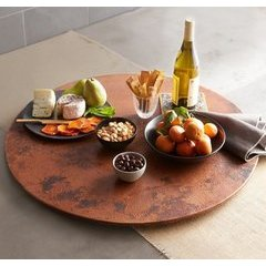 Versitile 20 Inch Lazy Susan - Tempered Copper