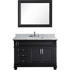 48 Inch Hudson Single Sink Vanity Set - Espresso