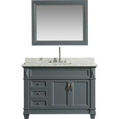 48 Inch Hudson Single Sink Vanity Set - Gray