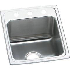 Lustertone Classic 22 Single Bowl Drop-in ADA Sink - Lustrous Satin