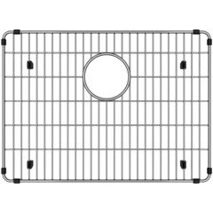19-1/4 x 14 x 1-1/4 Inch Bottom Grid - Polished Stainless Steel