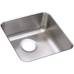 Lustertone Classic 17 Single Bowl Undermount Sink - Lustrous Satin