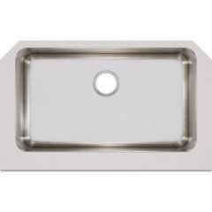 Lustertone Classic 21 Single Bowl Farmhouse Sink - Lustrous Satin
