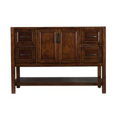 48 Inches Free Standing Georgette Bathroom Vanity Only - Walnut