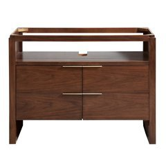 "43"" Giselle Single Vanity - Natural walnut"