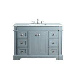 Seine 48 Inches Single Sink Bathroom Vanity - Grey