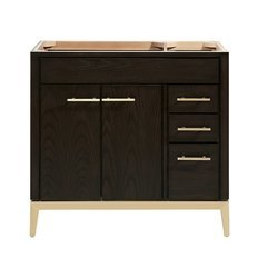 "36"" Hepburn Single Vanity - Dark Charcolate"