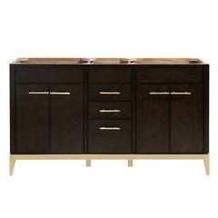 "60"" Hepburn Single Vanity - Dark Charcolate"