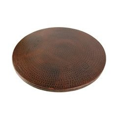 20 Inch Hand Undermount Lazy Susan - Oil Rubbed Bronze