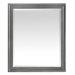 Avanity Milano 30 in. Mirror in Light Charcoal finish