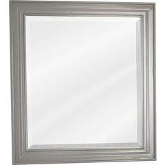 "22"" x 24"" Jensen Grey Mirror with Beveled Glass"