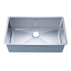 "32"" Undermount Single Bowl Kitchen Sink - Stainless Steel"