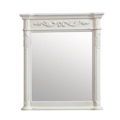 Avanity Provence 30 in. Mirror in Antique White finish