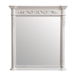 Avanity Provence 36 in. Mirror in Antique White finish